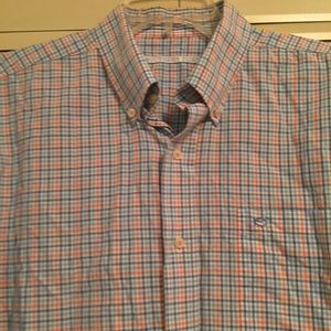 Southern Tide Men's L Plaid Buttondown Shirt
